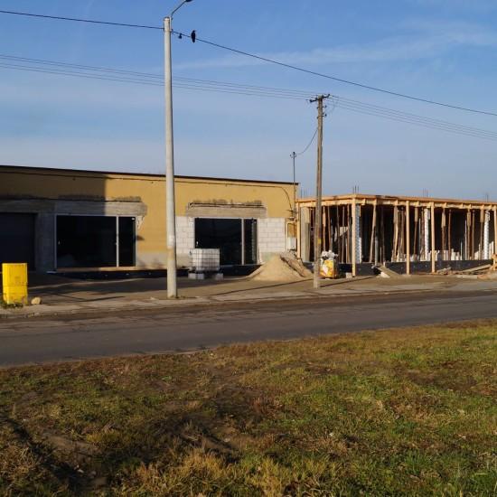 Przebudowa i rozbudowa budynku usługowego