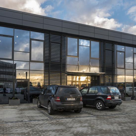 Budynek usługowo-magazynowy
