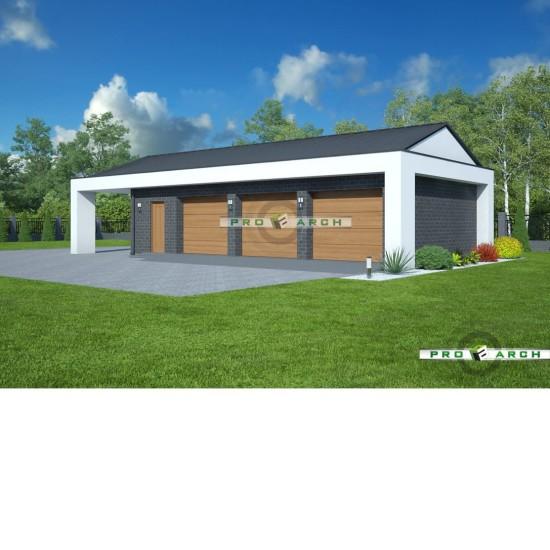Garaż – mała architektura